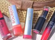 [Summer Favorites] lèvres colorées petits prix