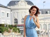 long blue dress concours)