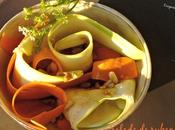 Salade rubans thaï