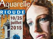 Nocturne Brioude Aquarelle musique