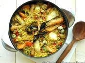 Paella quinoa poisson