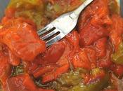 Salade poivrons grillés