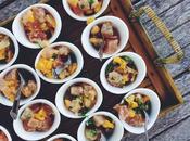 Ceviche thon, mangue, coriandre