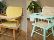 Rénovation seconde jeunesse pour chaise oubliée