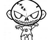 dessin zombie