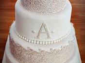 Wedding cake lace tout dentelle