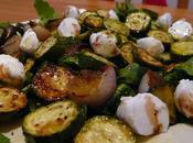 Recette courgettes marinées salade, bruschetta pesto vegan sans gluten