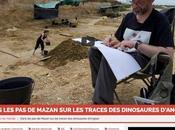 Dans Mazan traces dinosaures d'Angeac