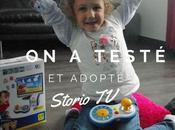testé adopté Storio