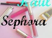 haul Sephora #novembre