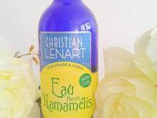 Pour peau mixte tente l'Eau florale d'Hamamélis