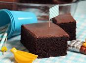 Gâteau chocolat bananes