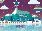 patinoire sommet Puy-de-Dôme durant vacances Noël