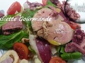Salade Gourmande Foie Gras cuit Thermomix