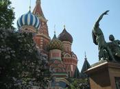 Russie-Mongolie, Part Moscou, visites