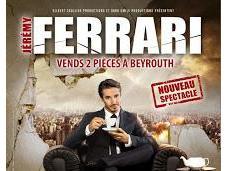 "Jérémy Ferrari ""Vends pièces Beyrouth"""