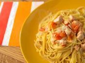 Recette pasta saumon lait coco