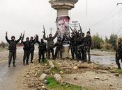 FRAPPES RUSSES. forces syriennes rapprochent lentement mais sûrement Raqqa