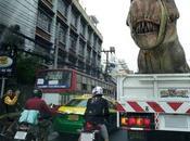 Bangkok, dinosaure verbalisé (vidéo)