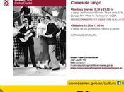 Cours danse Museo Casa Carlos Gardel l'affiche]