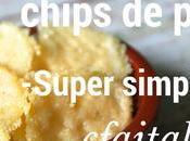 Recette chips parmesan