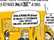réfugiés, Paris, Europe, sans-abris, travail, précarité