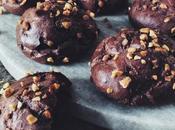 Petites chouquettes chocolat éclats pralin