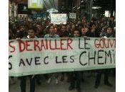 Etudiants Nuit Debout soutien cheminots