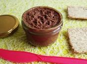 pâte tartiner diététique végane chocolat noisette protéines tournesol (sans gluten sucre beurre, riche fibres)