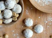 Macadamia Mexican Wedding Cookies Biscuits mariage mexicain noix macadamia