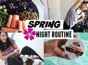 Night Routine Cocooning, sport dîner veggie