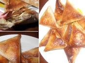 Triangles Poulet: Entrée pour Ramadan
