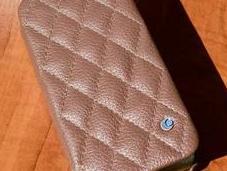 Noreve housse cuir matelassé Tradition pour iPhone