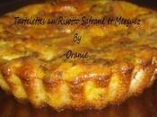 Tartelettes risotto safrane merguez