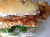 Burger steack saumon