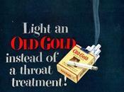…Les cigarettes longtemps vendues comme bonnes pour santé