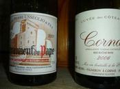 Châteauneuf Pape Pierre Usséglio 2001 Cornas Robert Michel cuvée Coteaux 2006