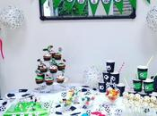 Anniversaire foot sweet table
