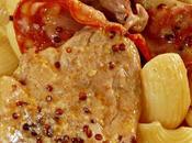Filet mignon chorizo moutarde l'ancienne
