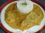 Queue lotte lait coco curry