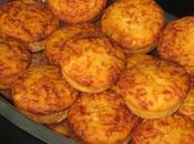 Muffins farine maïs comté