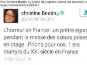 tweet retiré Christine Boutin