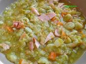 Soupe Fèves Lard traditionnelle