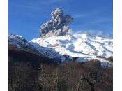 Eruption volcan chilien Nevados Chillán (3212m)