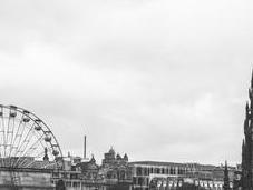 L'Ecosse villes d'ocre gris