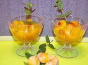 Soupe mirabelles d'orange