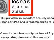 Nouvelle version 9.3.5 pour iPhone, iPad iPod
