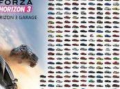 Forza Horizon liste complète véhicules