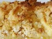Tarte pommes pâte levée