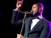 chanteur Usher reçoit 2.588e étoile Walk Fame Hollywood